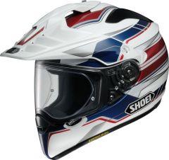 Shoei Hornet Adventure & Dual Sport Helmet Navigate  Blue